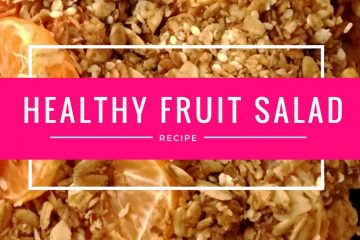 5 Minute Healthy Fruit Salad Recipe for Glowing Skin!