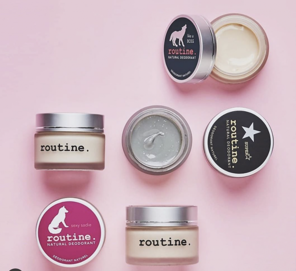 routine best natural deodorant review